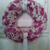 Sóvirág kopogtató rózsaszín - fehér színben