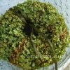 Zöld hortenzia koszorú