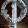 Kopogtató ezüst-fehér színben