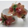 Esküvői karkötő Phalaenopsis orchideával